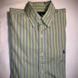 Ralph Lauren Button Down Shirt Large 16